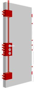 TR601 Residential Security Door