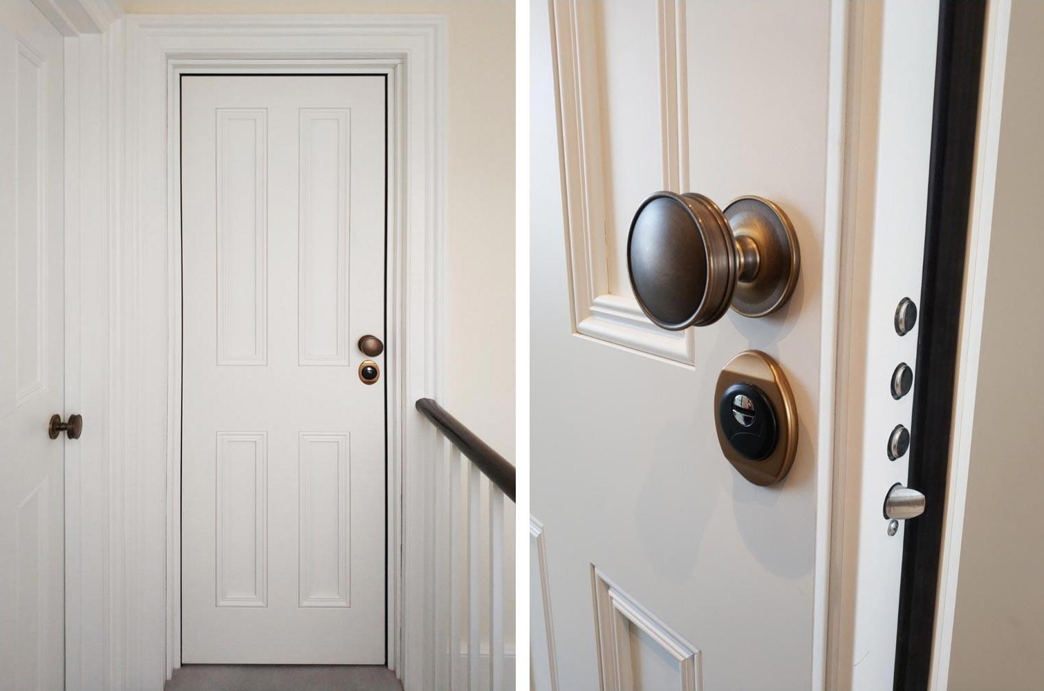 KSDW Fire Rated Security Door case study