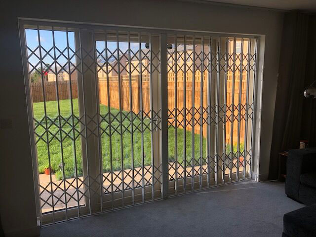 Residential security grilles windows