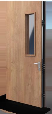 commercial steel security door
