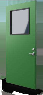 flood defence commercial security door