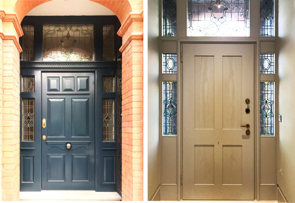 London house high security front door