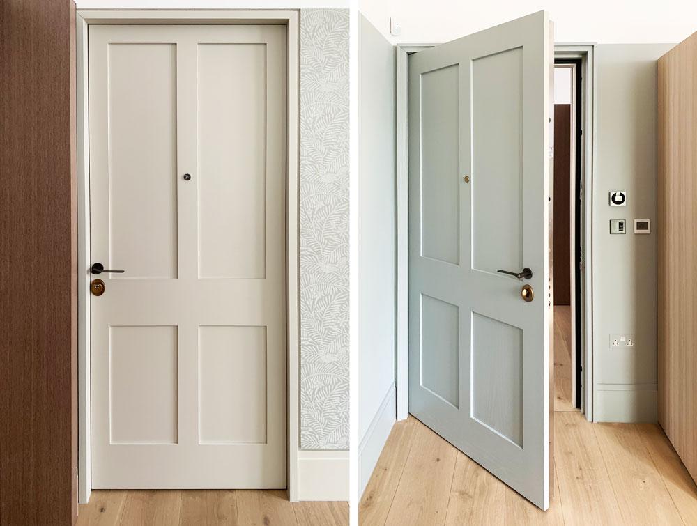 Panic room Fire-rated Security Door