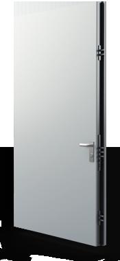 rated steel commercial security door